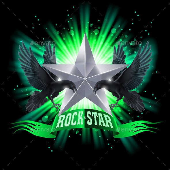 Rock Star - People Characters