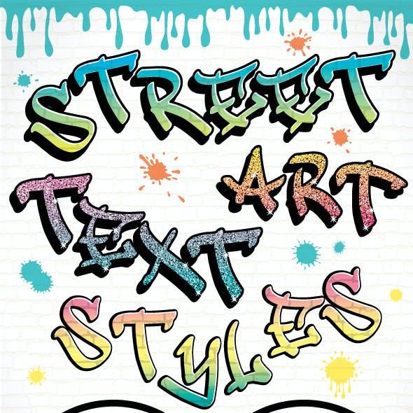 Graffiti Text Styles