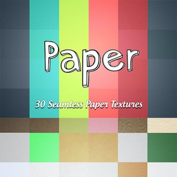 30 Seamless Paper Textures