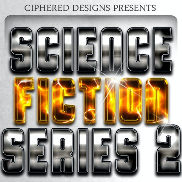 Science-Fiction Series 2 - Professional Styles