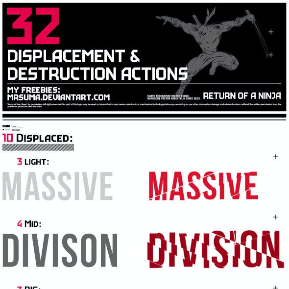 32 Displace & Distort Effect