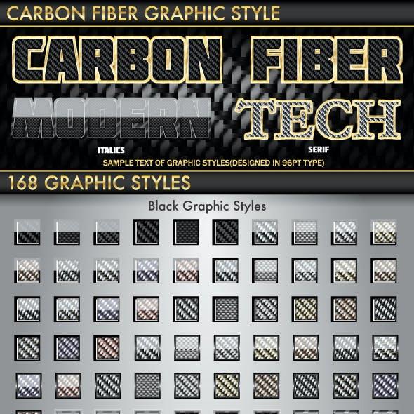 Carbon Fiber Graphic Style
