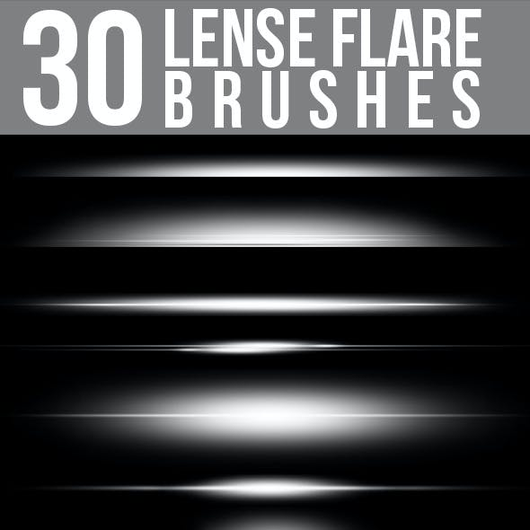 30 Lense Flare Brushes