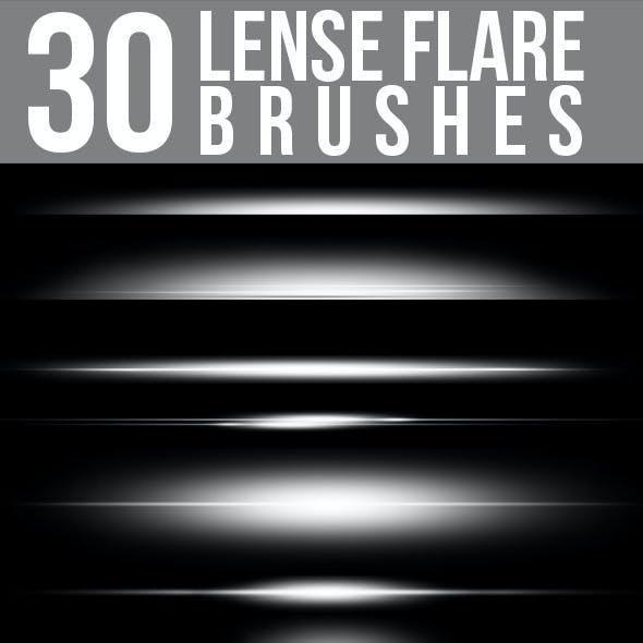 30 Lense Flare Brushes