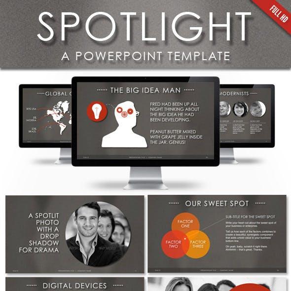 Spotlight Powerpoint Template