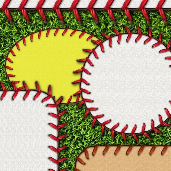 Baseball Stitches Brush & Styles Pack