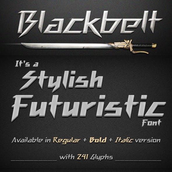 Blackbelt Font