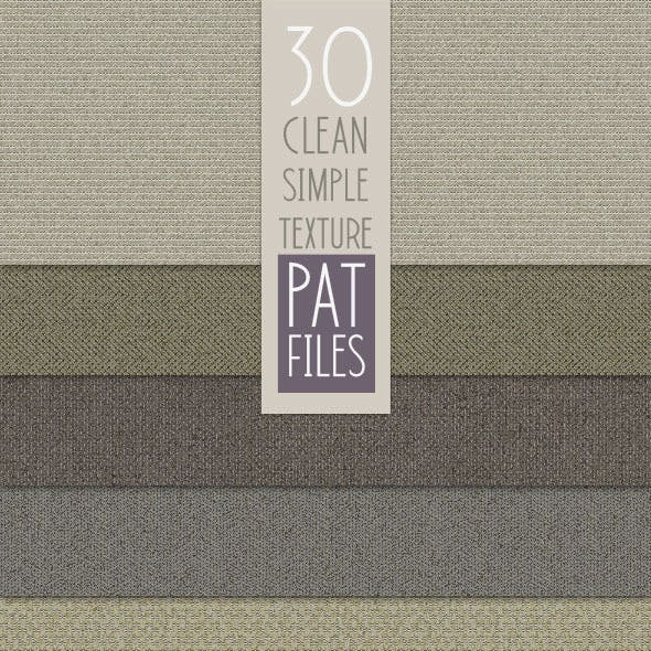 30 Fine & Simple Textural Patterns