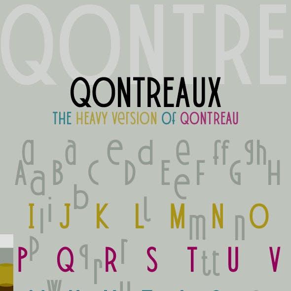 Qontreaux: Bold Elegant Modern Typeface