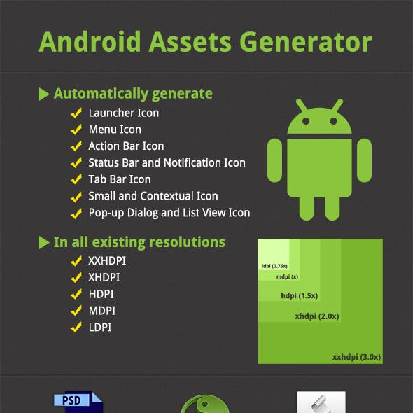 Android Assets Generator