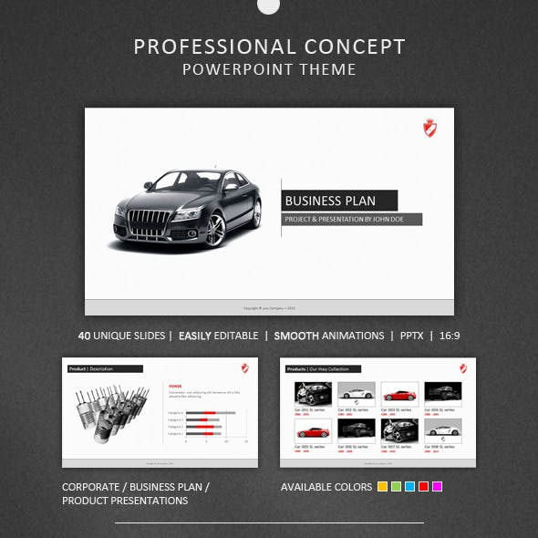 Professional Concept Powerpoint Theme