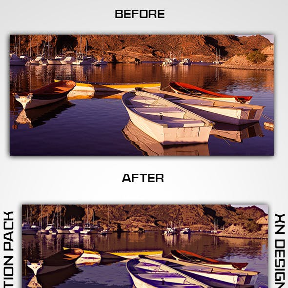 5 Photoshop Special Effect Action Pack