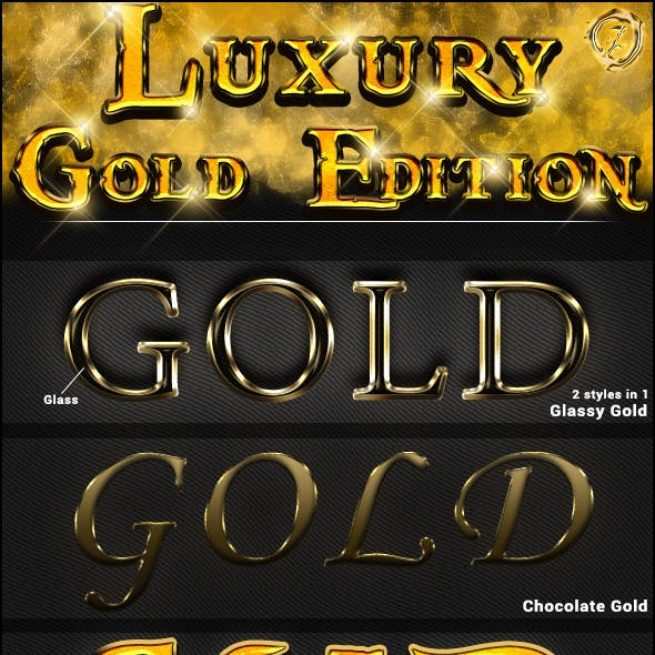 Gold Luxury Styles
