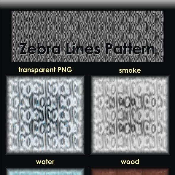 Zebra Lines Pattern