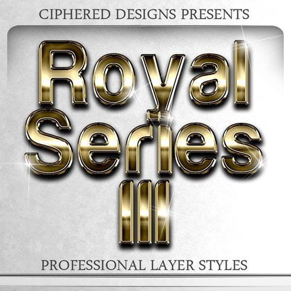 Royal Series III - Professional Layer Styles