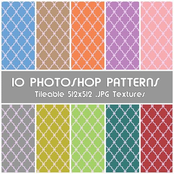 10 Photoshop Patterns - Set 03
