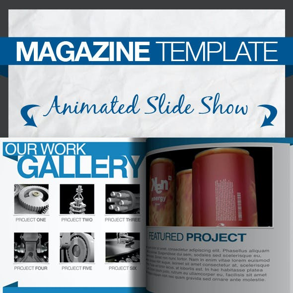 Magazine Keynote Presentation Template