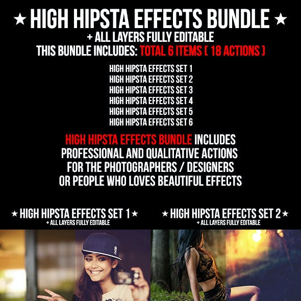 High Hipsta Effects Bundle