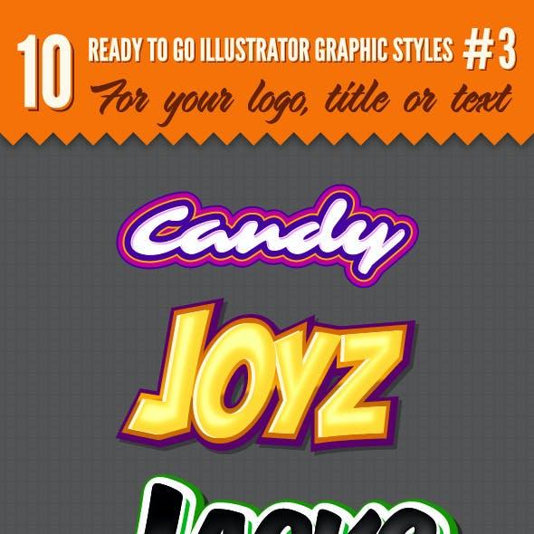 10 Logo Graphic Styles #3