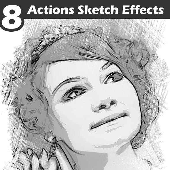 Actions Sketch Effects