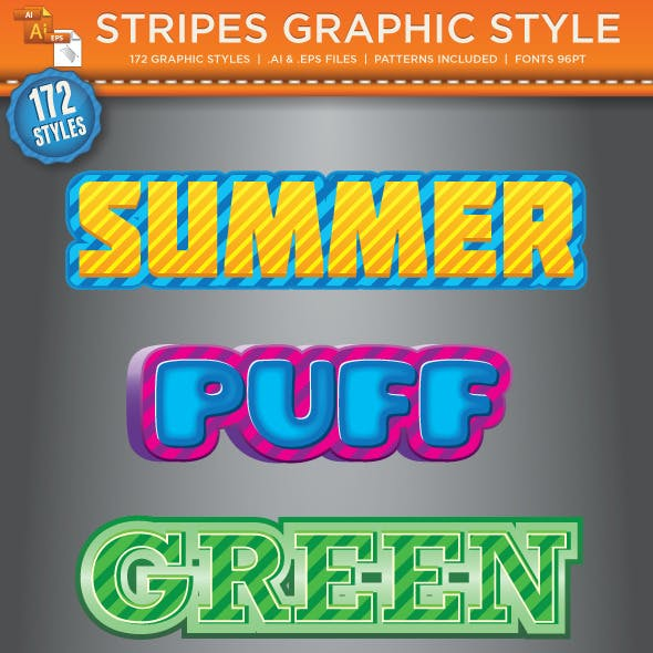 Stripes Graphic Styles