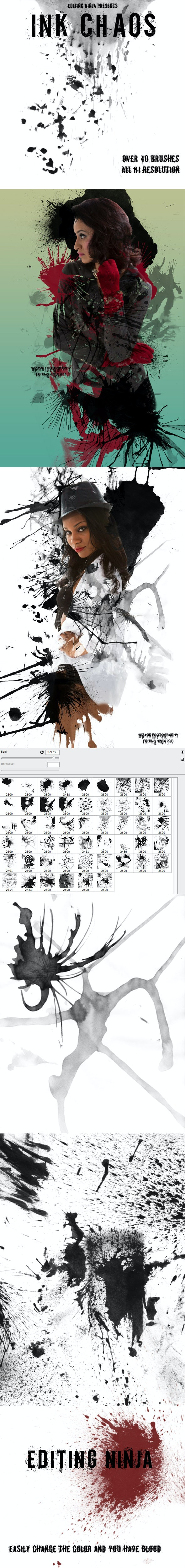 Ink Chaos  - Grunge Brushes