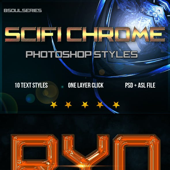 Chrome Styles Graphics, Designs & Templates from GraphicRiver