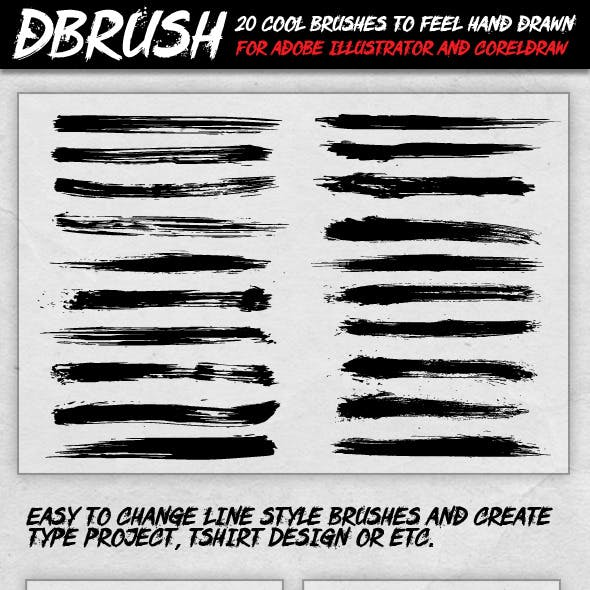 dBrush - 20 Cool Brush