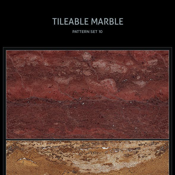 10 Tileable Marble Textures/Patterns