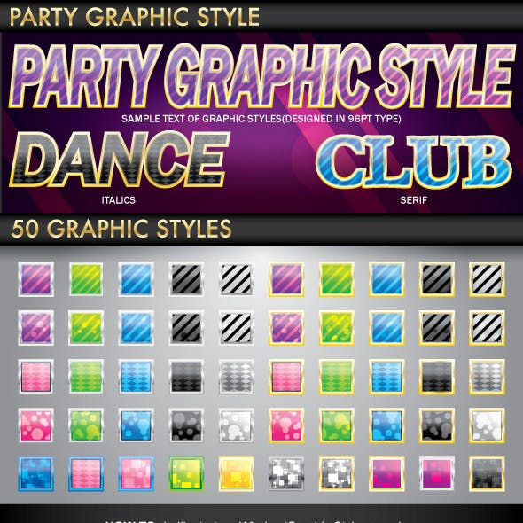 Party Graphic Style