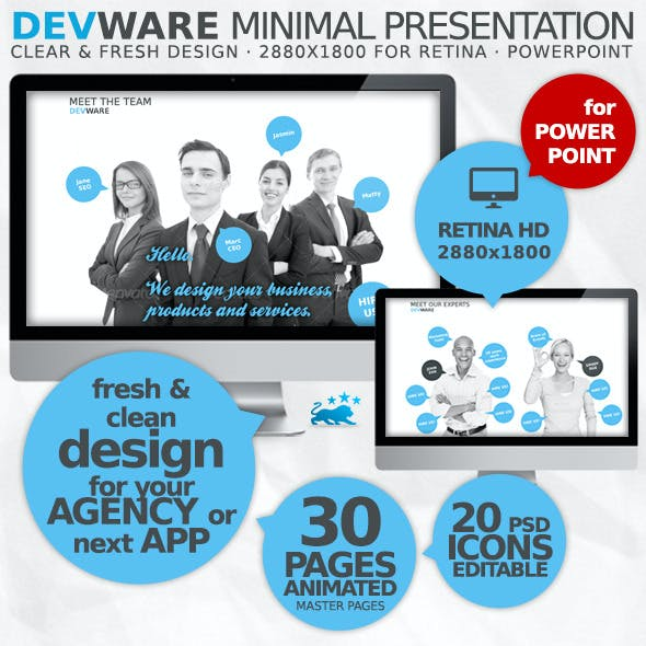 Devware 30 Pages PowerPoint Presentation