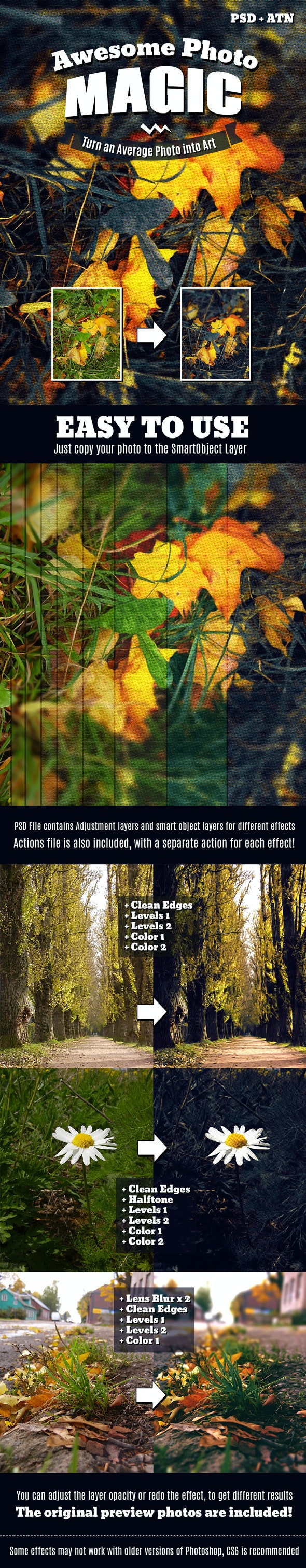 Photo Magic - Photo Effects Actions