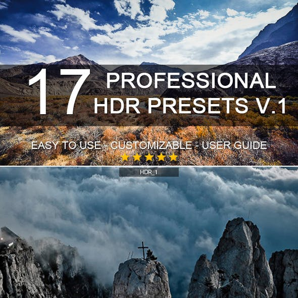17 Pro HDR Presets