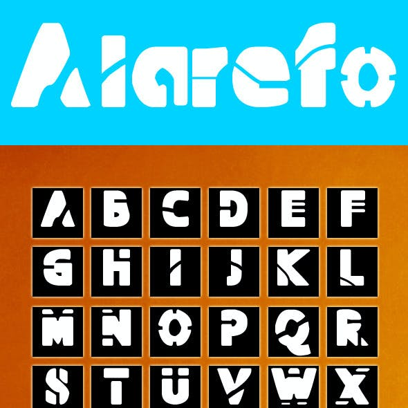 Aiarefo Font