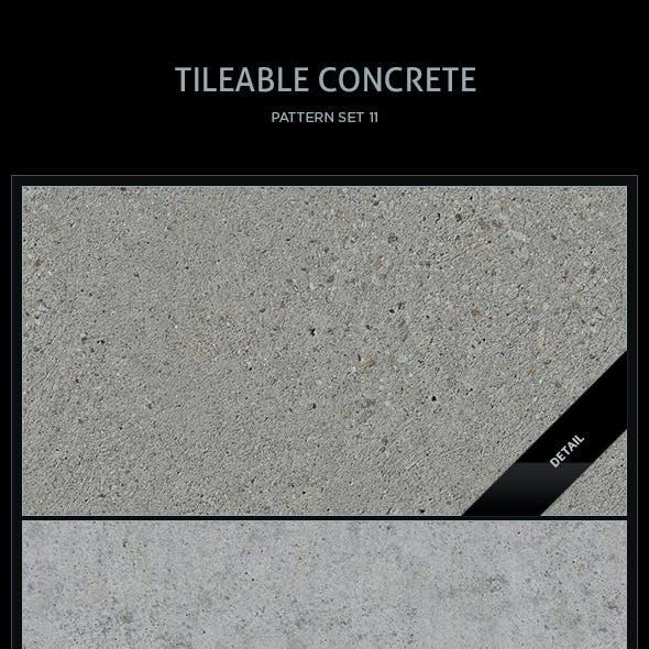 10 Tileable Concrete Textures/Patterns