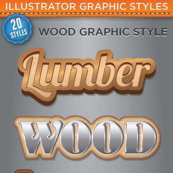 Wood Graphic Style