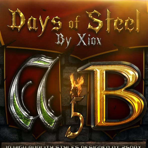 Days of Steel -Style Pack 5-