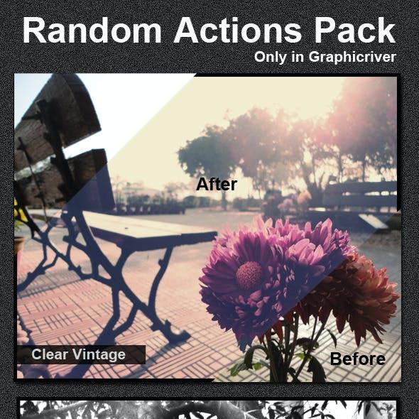 Random Actions Pack V1