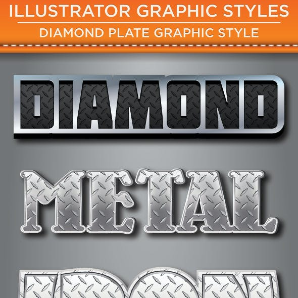 Diamond Plate Graphic Styles