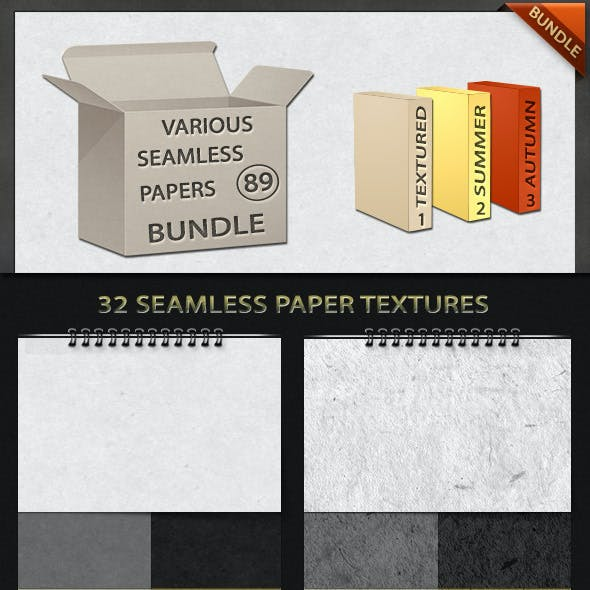 Various Seamless Papers Bundle