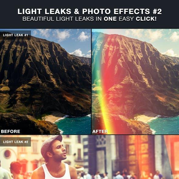 Light Leaks & Photo Effects #2