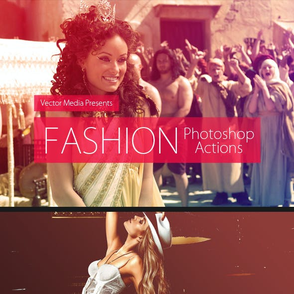 Fashion - Photoshop Actions