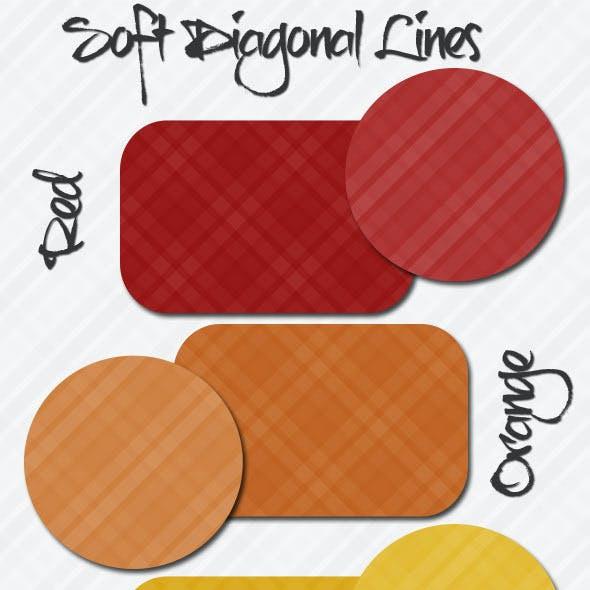 Soft Diagonal Lines Patterns