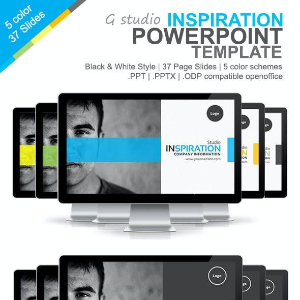 Gstudio Inspiration Powerpoint Template
