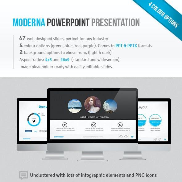 Moderna Powerpoint