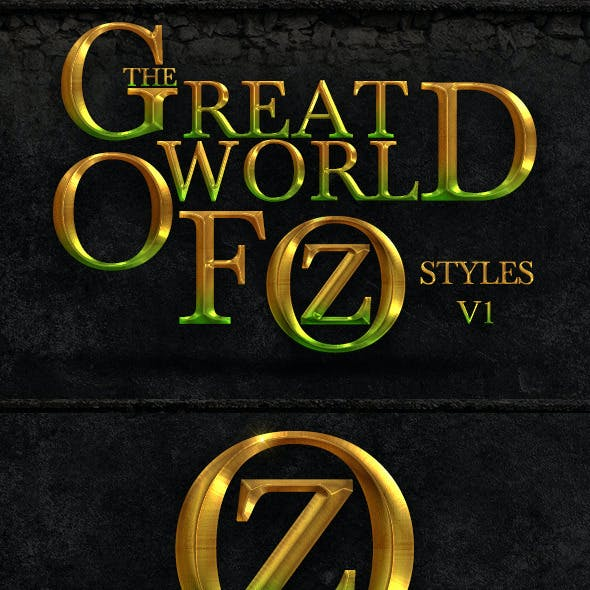 The World Of Oz Styles V1