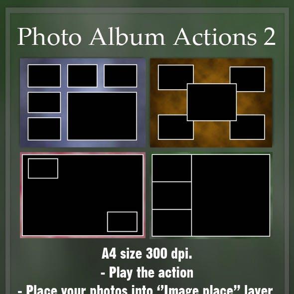 Photo Album Actions 2