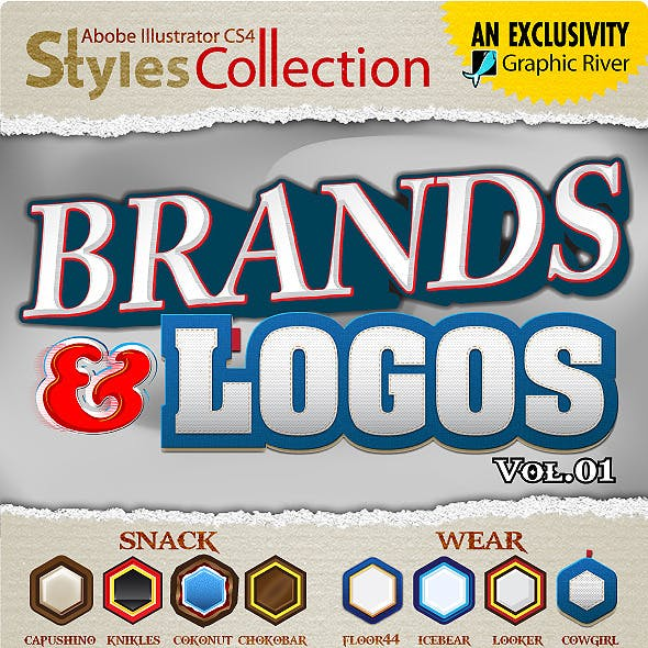 AI Styles Collection #04A: Brands & Logos #01