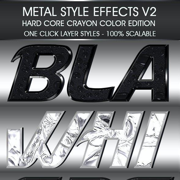 Metal Styles Set Volume Two