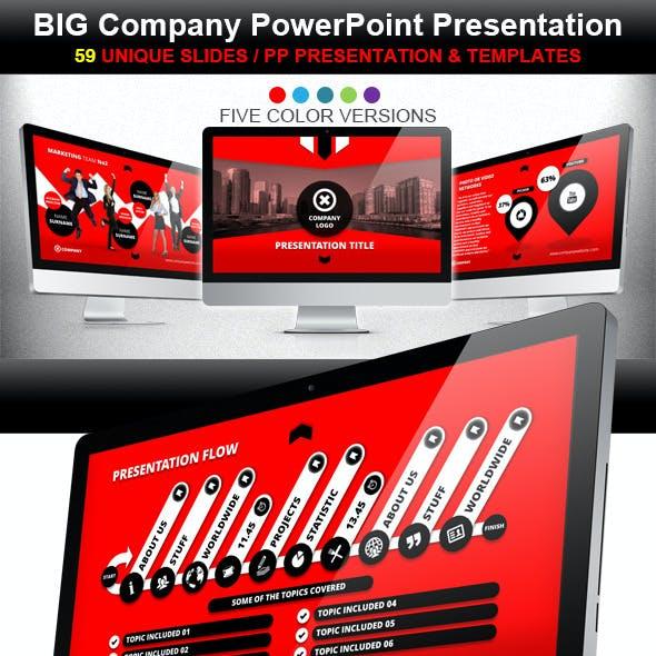 Big Company PowerPoint Prezentation Template